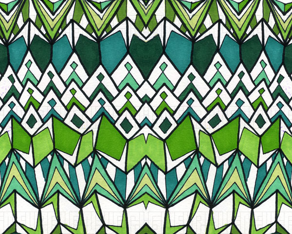 Sharp Green by Debbie Clapper